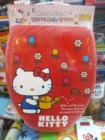 ㊣韓國 Sanrio Hello Kitty Toilet Seat 吉蒂貓加長O形軟廁所板 301117