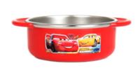 ㊣韓國Disney Mcqueen Cars 反斗車王 兒童不銹鋼餐具 保溫碗 保温飯碗 雙耳碗220917
