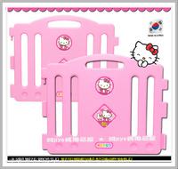 [訂貨區]㊣韓國 Sanrio Hello Kitty 吉蒂貓 兒童安全遊戲圍欄學步防護欄 - 2片加大片
