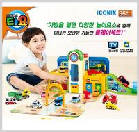 ㊣韓國 Tayo The Little Bus Min 小巴士車仔 玩具  轉轉車場  2135setC /網客店取照價 95折        $664
