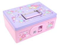 Sanrio Little Twin Stars Jumbo Cash Box 珍寶夾萬Size: 26.2W x 10.8H x 17.8Dia cm1213