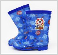 韓國進口 妖怪手錶 yokai watch 兒童水靴 水鞋 雨具用品17-18碼_3114
