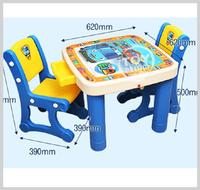 [訂貨區]㊣韓國 Tayo The Little Bus 兒童塑膠餐桌椅組合 枱仔櫈仔__店取-HK$10