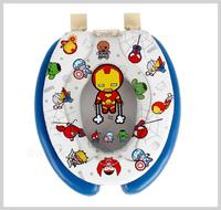 ㊣韓國 Marvel Avenger 復仇者聯盟2 子母廁所板 成人 兒童軟墊學習二合一坐廁板(360x440mm)__店取-HK$10 家居用品