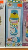 兒童 嬰兒 用品 Doraemon多啦A夢真空保溫水壺 長帶吸管 保温瓶 樽380ml-20161211A