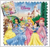 ㊣Disney Princess 公主  9片EVA發泡 拼圖地墊 兒童遊氣墊 爬行墊 ※店取-HK$10※