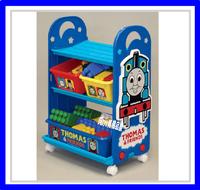 ㊣日本 Thomas & Friends 托馬斯火車 玩具架 玩具箱 儲物架 儲物櫃 雜物架 收納 *即送廸士尼廢紙箱* ※店取95折