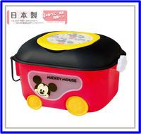 [訂貨區] ㊣日本Disney Mickey 米奇 兒童玩具收納箱 儲物箱1914 *即送廸士尼廢紙箱* ※店取-$10