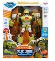 韓國 Tobot 機器戰士 變身機械人 玩具 D