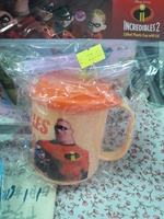 正品超人特工隊兒童 幼稚園 手挽 有蓋水杯