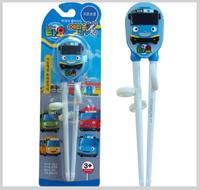 ㊣韓國 Tayo The Little Bus 巴士車仔 兒童學習筷子2119 廚房用品