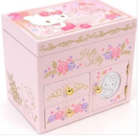 Hello Kitty Wooden Sanrio Musical Jewellery Box 首飾音樂木盒20161201B