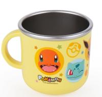正韓國 pokemon 小精靈 比家超 不銹鋼單耳杯 14517D