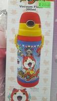 兒童 嬰兒 用品 正版妖怪手錶 真空保溫水壺 長帶吸管 保温瓶 樽380ml-20161211
