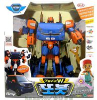 韓國 Tobot 機器戰士 變身機械人 W
