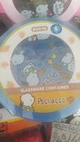 Sanrio Pochacco pc狗卡通 高溫圓形玻璃密實食物合_600ml 2010717