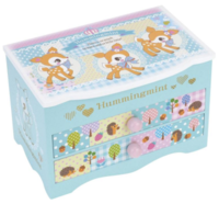 Hummingmint 小鹿木製音樂首飾盒首飾音樂盒081217
