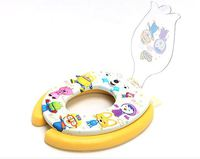 韓國 Pororo 冰鎮小企鵝 兒童用品 學習 軟墊 子母廁所板 二合一廁板 家居用品2791_店取-HK$10
