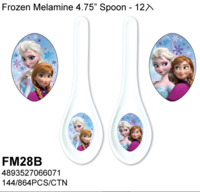 Disney/Frozen Elsa & Anna /魔雪奇緣/愛莎.安娜4.75吋湯匙07032018