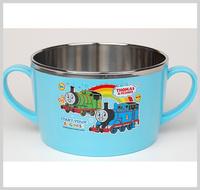 嬰兒 兒童用品 韓國Thomas & Friends 不銹鋼餐具 保溫碗 保温飯碗 雙耳碗 2936