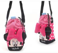 ㊣韓國直送Disney Minnie 米妮造形老鼠保溫水壺袋210917