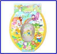 ㊣韓國 Pororo小企鵝寶寶 子母廁所板 成人廁板+兒童軟墊學習坐廁板二合一2441(440x360mm) **店取-HK$10**