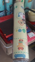 ㊣韓國Disney Baby Mickey Mouse 米奇BB PE 包邊 嬰兒 兒童地墊 爬行 膠地蓆100x200x1cm(130617)__店取95折