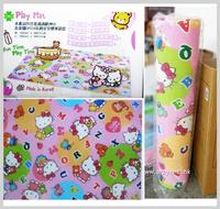 ㊣韓國Sanrio Hello Kitty 雙面無毒安全嬰兒BB地墊膠 遊戲爬行墊 Playmat(L)1983__店取9折