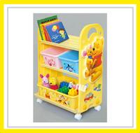 ㊣日本 Disney Winnie The Pooh 小熊維尼 玩具架 玩具箱 儲物架 儲物櫃 雜物架 收納 *即送廸士尼廢紙箱* ※店取-$10