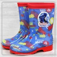 韓國進口 Thomas & Friends 湯馬仕小火車 兒童水靴 雨鞋 水鞋 雨具用品17碼_3050
