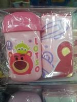 開學用品 Disney  Lotso/勞蘇兒童毛巾盒 手巾仔_