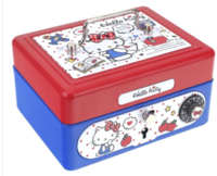 Sanrio Hello Kitty Metal Cash Box with Dial Lock & Key (S) 夾萬連密碼鎖及鎖匙031017
