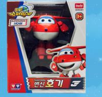 韓國 正SUPERWINGS 超級飛俠2.0 HOGI樂迪 變身機械人 玩具(有私家跑道)12517