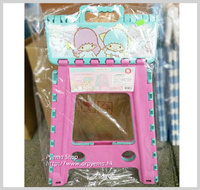 ㊣Sanrio Little Twin Stars 兒童 卡通 戶外 輕便膠摺椅 櫈仔(L)1990