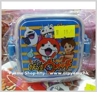 兒童 嬰兒 用品 正版 妖怪ウォッチ Yokai Watch 幼稚園毛巾盒 零食 食物盒 膠合120ml_2868