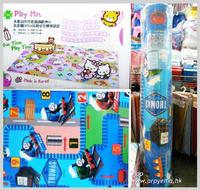 ㊣韓國Thomas & Friends 雙面無毒安全嬰兒BB地墊膠 遊戲爬行墊 Playmat(L)1985__店取9折