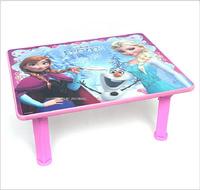 [訂貨區]Disney Frozen 魔雪奇緣 Elsa Anna 兒童桌 卡通茶几 摺合小木枱矮腳1756
