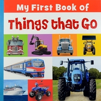 #1802 My First Book Book of Things That Go , 大大本幼兒認字圖書