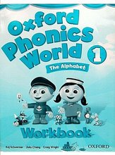 #1015  牛津練習教材Oxford phonics world 1 The Alphabet Workbook