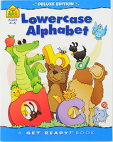 #1666 School Zone, Lowercase Alphabet Ages 4-6 , 小諧字母練寫