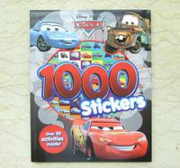 #1676 Disney Cars Stickers 1000 1000 Stickers 遊戲書/練習書/課外書/貼紙書/車王/麥坤