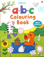 【售罄】#1508 Usborne 填色+貼紙練習 a.b.c.Colouring Book