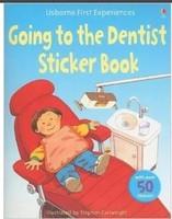 【售罄】#1461 Usborne First Experiences Going to the Dentist 貼紙故事書,英文圖書