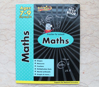 #1542 Gold Stars Practise for School Maths Ages 7-9 Key Stage 2 數學練習,課外練習