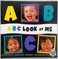 #1483 ABC Look at me 學習A-Z及26個表情故事,英文圖書【購物滿$100或以上+$12換購】 [課外書]