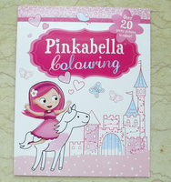 #1939 Pinkabella Colouring 填色畫冊