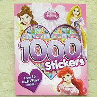 #1123  Disney Princess 1000 Stickers1000 Stickers 遊戲書/練習書/課外書/貼紙書