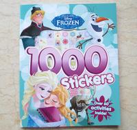 #1833  Disney Frozen 1000 Stickers 遊戲書/練習書/課外書/貼紙書