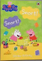 #1606 Ladybird 《Peppa Pig》Snort!Snort!Sticker Activity  粉紅小豬貼紙遊戲書【課外書】