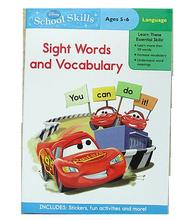 #1183 Disney School Skills 英文練習冊 Sight Words and Vocabulary